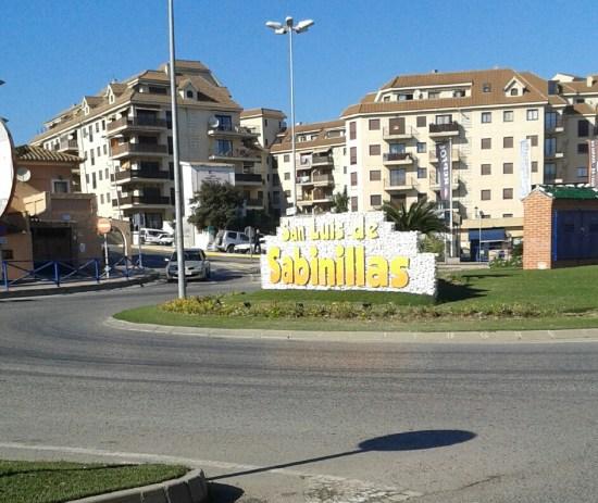 Den lilla staden San Luis de Sabinillas är min hemort när jag är i Spanien. Foto: Jag själv