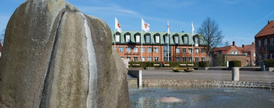 En 18-årig pojke misshandlades med ett basebollträ i närheten av Roslättsskolan i Svedala i Skåne. Bild: svedala.se
