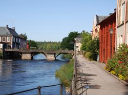 Stadsbild från Arboga Foto: arboga.se