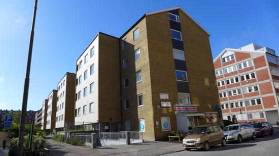 En 25-årig man blev knivskuren är på Henrik Smithsgatan i Malmö. Bild: Hagagruppen