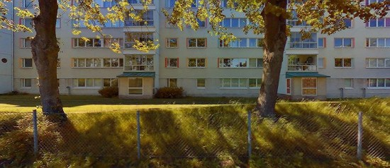 Här på Hyacintgatan i Malmö utsätts en 20-årig man för mordförsök. Foto: kartor.eniro.se