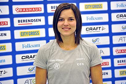 Susanna Kallur Foto: Presskonferens med Falu IK
