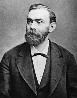 Alfred Nobel Foto: Wikipedia