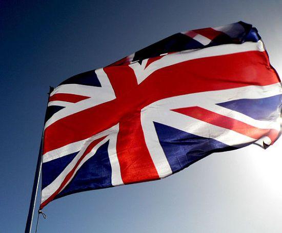 Brittiska unionsflaggan Foto: Vaughan Leiberum