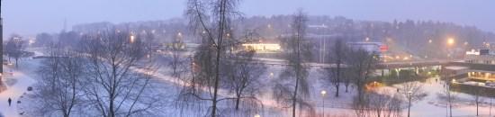 Vy över bl a Lagman Lekares väg i Norsborg. Bild: hitta.se