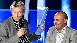 Lars Lerin vann två Kristaller igår kväll Foto: TV5