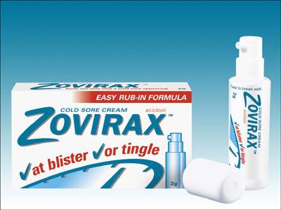 Zovirax - bra mot munsår och innehåller ej anabola steroider!