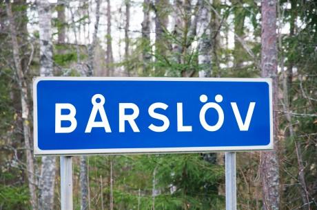 Här vid Bårslöv utanför Helsingborg hittades den brinnande kroppen av en kvinna vid sidan av väg 1172. Bild: dinX.se