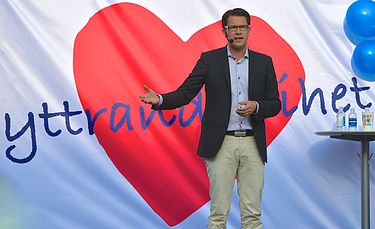 Jimmie Åkesson (SD) foto: wikimedia.commons
