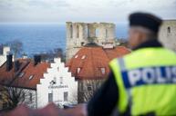 Två flyktingpojkar misshandlades av två berusade svenskar vid en busshållplats i Visby, Bild: polisen.se