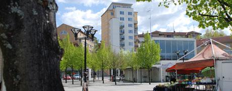 Ett mordförsök skadad om området Rissne i Sundbyberg Bild: sundbyberg.se