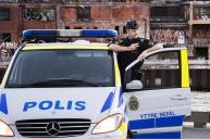 Polisen i arbete Foto: Polisen.se