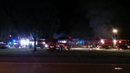 En Tempo-butik i Frövi förstördes av en mordbrand i september Källa: Positiva Frövi