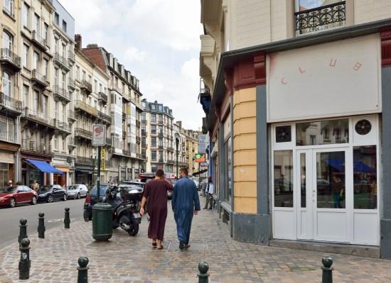 Den beryktade stadsdelen Molenbeek i Bryssel Copyright: Tacna/Dreamstime.com