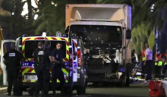 Lastbilen i Nice - symbolen för den nya sortens terrorism Copyright: Jihad Watch