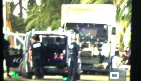 Terrorlastbilen i Nice Copyright: Jihad Watch