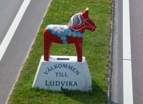 Välkommen till Ludvika Foto: Commons.Wikipedia.org