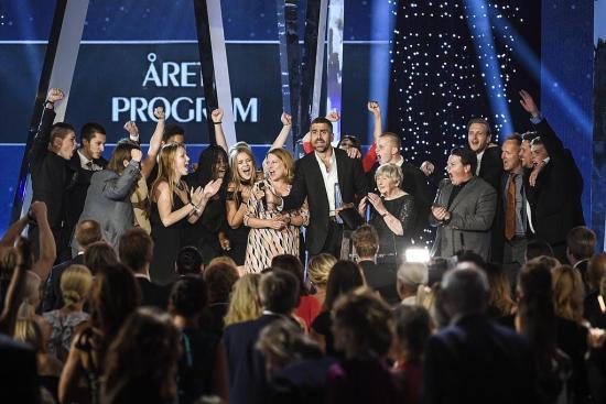 Alla Kristallen-vinnare 2016 Foto: TV5