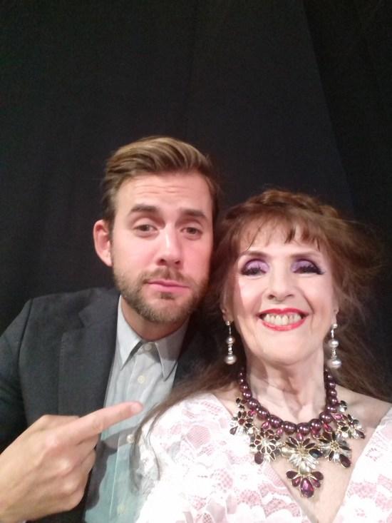 Per Lärnström från TV4 ville gärna vara med på en selfie med mig Foto: Elisabet Höglund