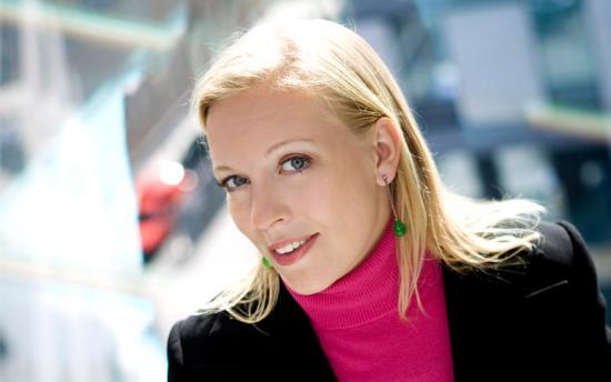 ... liksom Maria Rankka, vd för Stockholms Handelskammare Foto: Stockholms Handelskammare