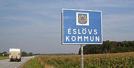 Eslövs kommun har drabbats av en lång rad mordbränder under den senaste tiden. Bild: sv.wikipedia.org