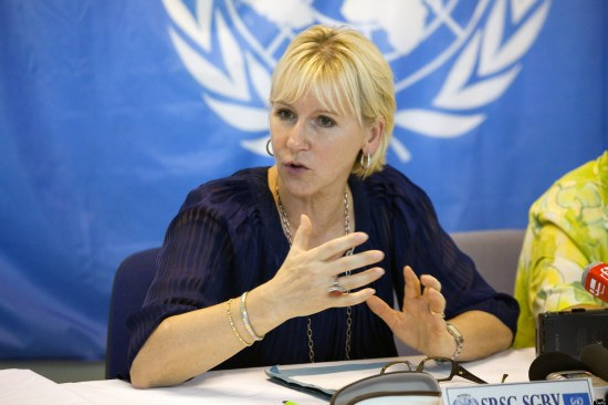 Utrikesminister Margot Wallström Foto: un.org