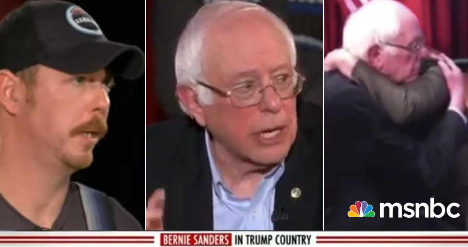 Yes, We CAN Talk With Trump Voters: Bernie Sanders Shows Us How (VIDEO)