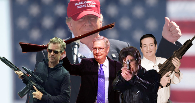 Hate In Charlottesville? The GOP Has An Armed Insurrection Problem And We Need To Talk About It