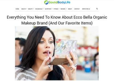 Ecco Bella Organic Makeup Brand