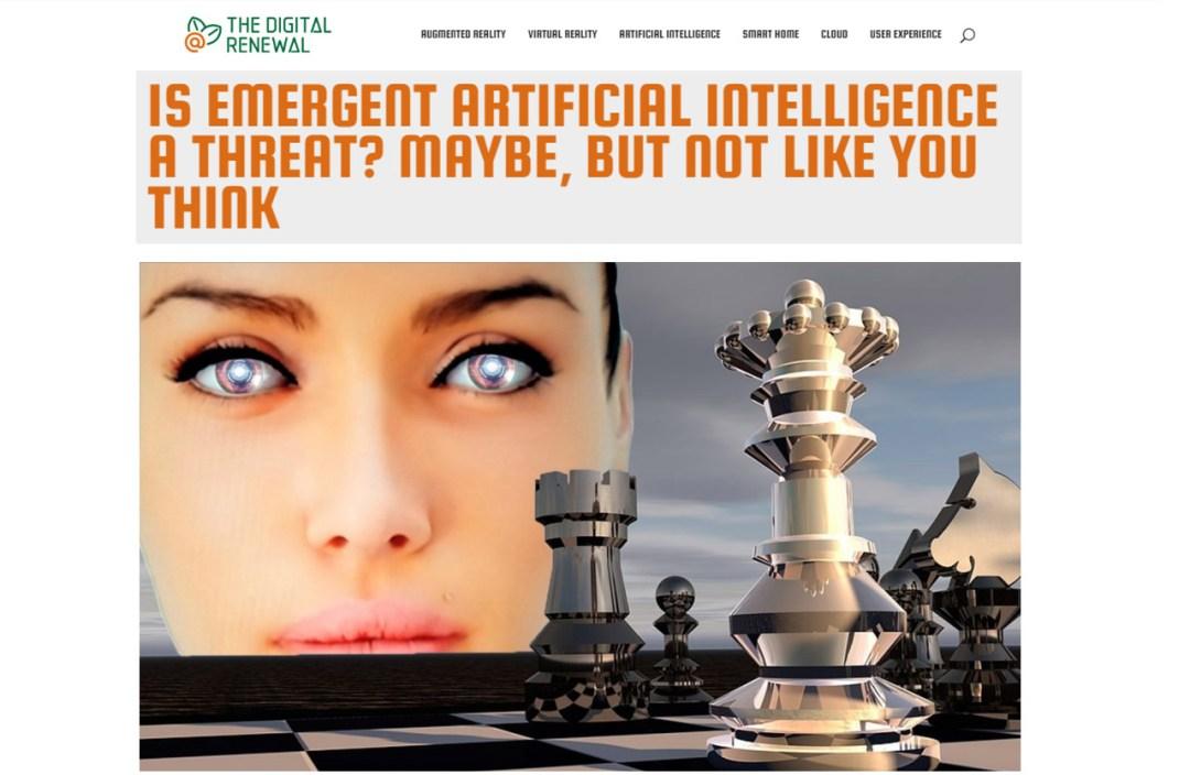 Emergent Artificial Intelligence