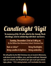 2012.12.23 - Flier for Sandy Hook Vigil