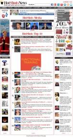 2014 - Prototype for Hot Shotz News, an Aggregator Site.