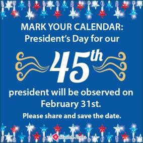 2017.02.15 - Presidents Day