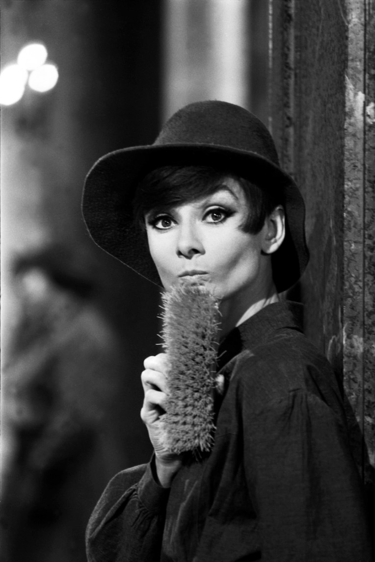 Audrey Hepburn captured by Terry O'Neill