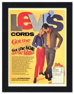 Levi's Jeans advertisement