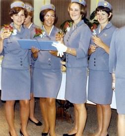 PanAm air hostesses uniform