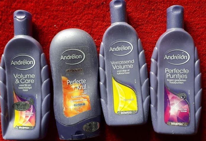shampoo - Opgemaakte verzorgings- en schoonmaakproducten