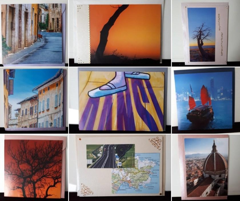kaarten gemaakt van afbeeldingen tijdschriften4