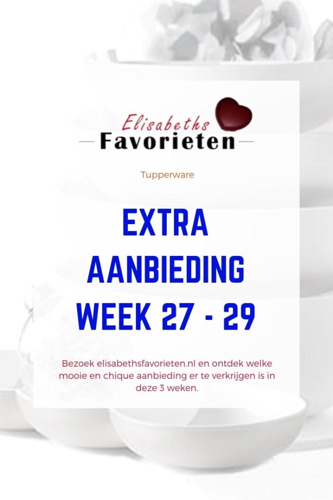extra aanbieding week 27 - 29