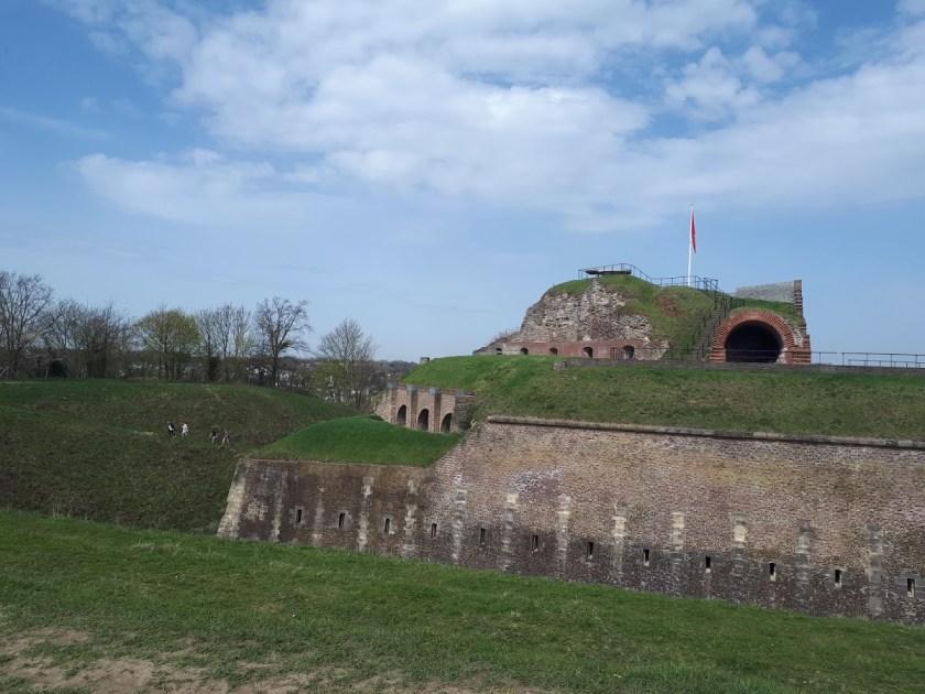 uitzicht op fort - maastricht