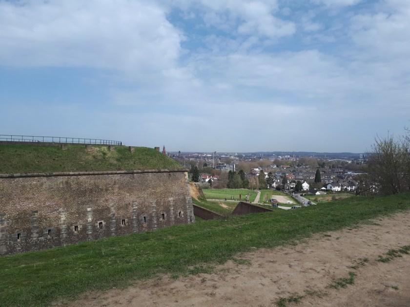 uitzicht fort maastricht