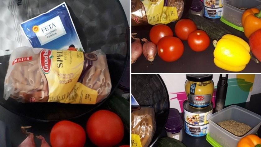 ingrediënten macaroni tonijn salade