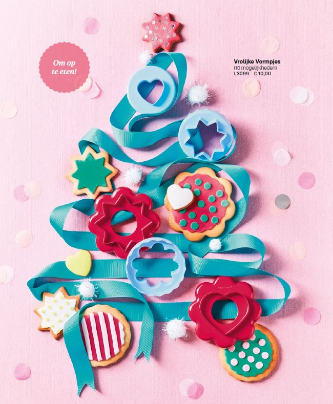 vrolijke koekjesvormpjes