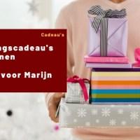 Verjaardagscadeau's voor mannen   Cadeau's voor Marijn