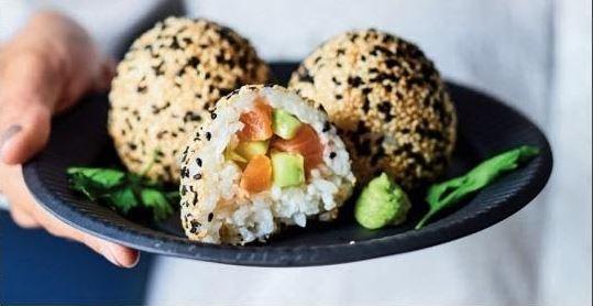 optioneel resultaat sushi balls