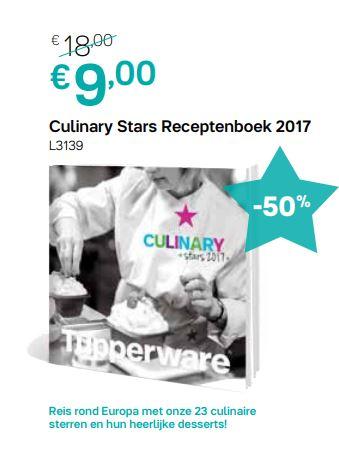 culinary stars receptenboek 2017