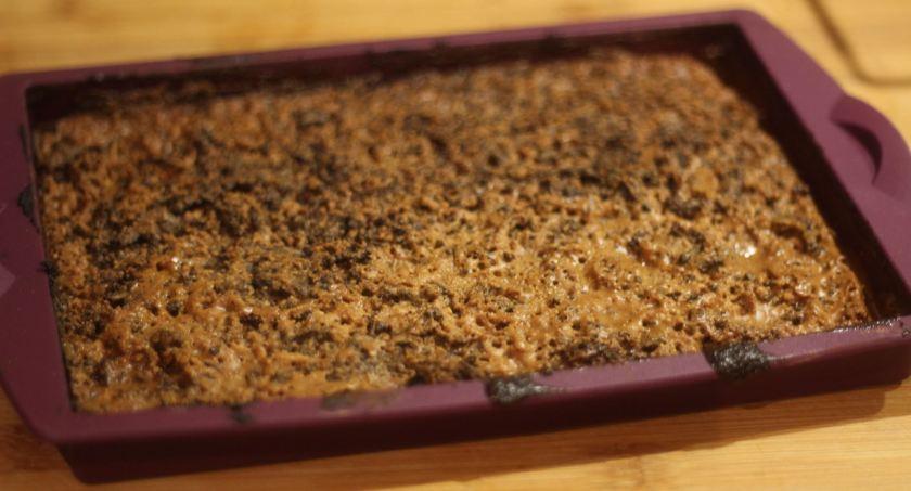 Resultaat brownie met pindakaas in MFV rechthoek