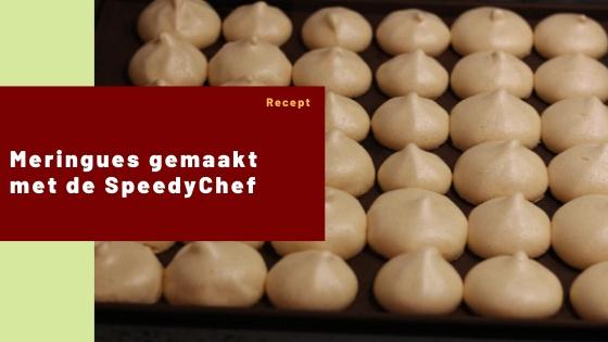 Meringues – gemaakt met de SpeedyChef – Recept #15