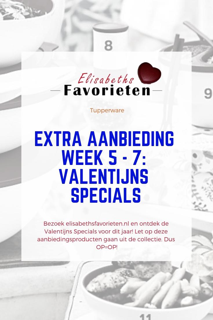 Extra aanbieding week 5 - 7 - ValentijnsSpecials