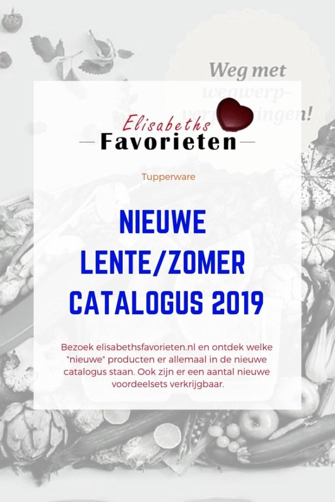 Nieuwe lentezomer catalogus 2019